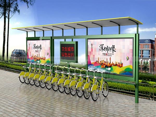 公共自行车棚 M-01