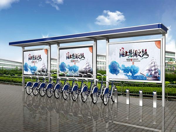 公共自行车棚 M-03