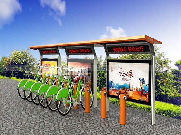 公共自行车棚 M-04