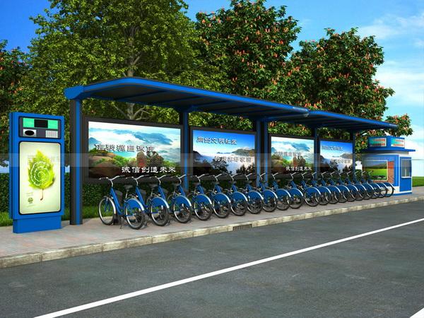 公共自行车棚 M-05