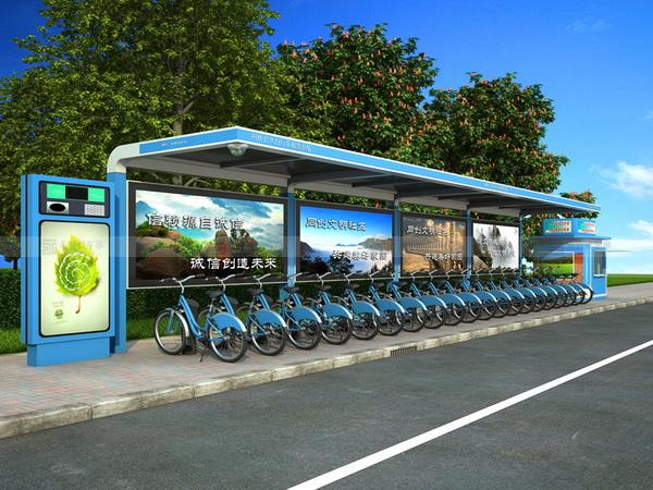 公共自行车棚 M-06