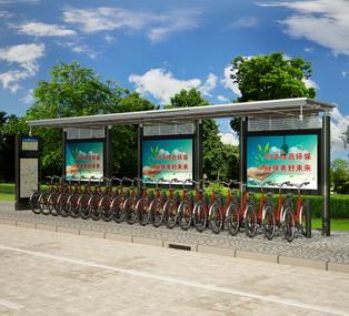 公共自行车棚 M-07