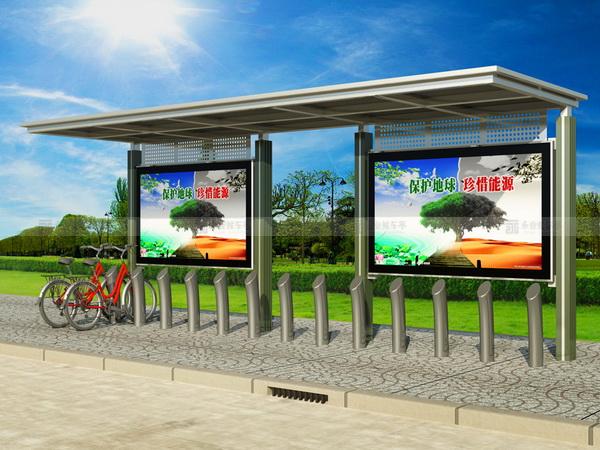 公共自行车棚 M-09