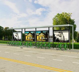 公共自行车棚 M-10