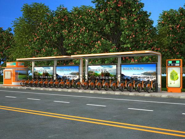 公共自行车棚 M-11