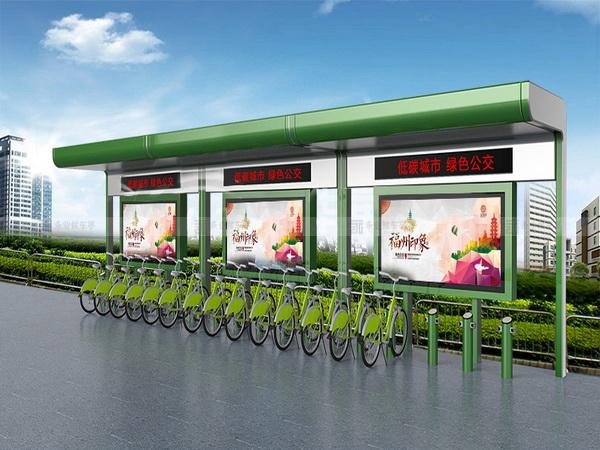 公共自行车棚 M-12