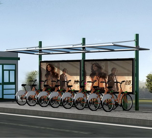 公共自行车棚 M-14