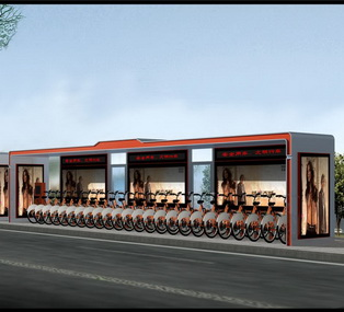 公共自行车棚 M-15