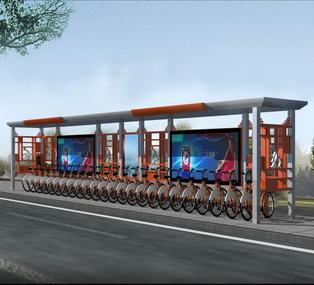 公共自行车棚 M-16