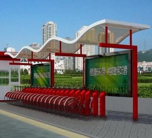 公共自行车棚 M-17