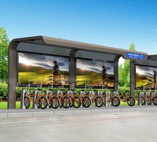 公共自行车棚 M-22