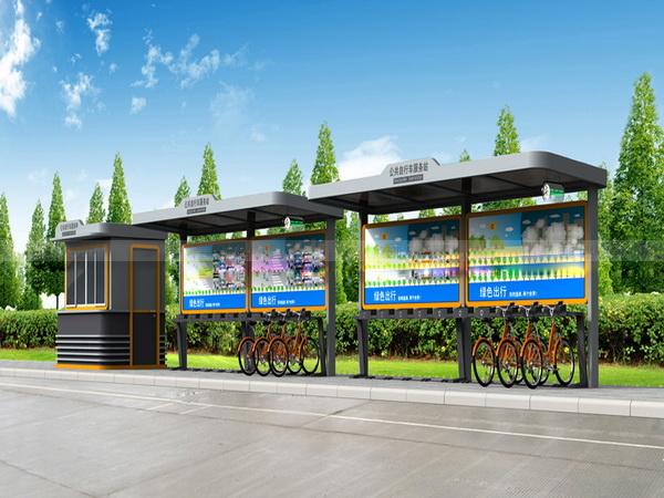 公共自行车棚 M-23