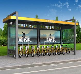 公共自行车棚 M-24