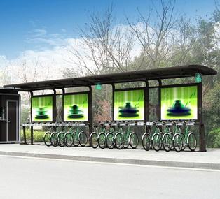 公共自行车棚 M-25