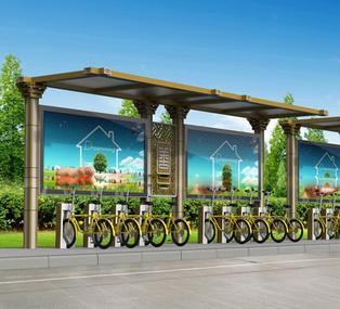 公共自行车棚 M-27