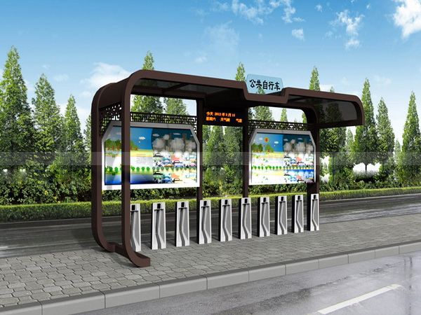 公共自行车棚 M-28