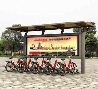 公共自行车棚 M-30