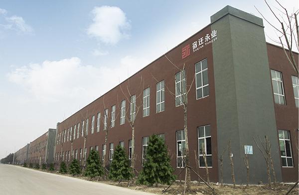 永业厂房侧景