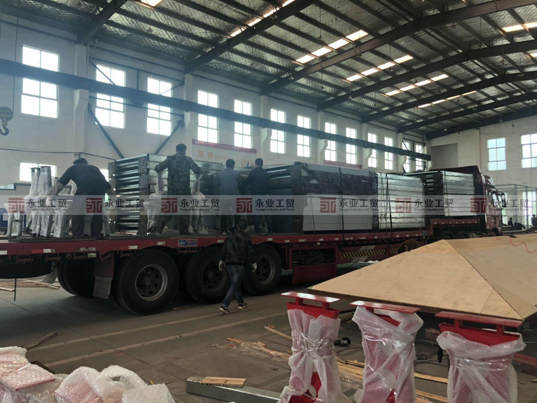 仙居县农村公路港湾式停靠站建设第四批次发货