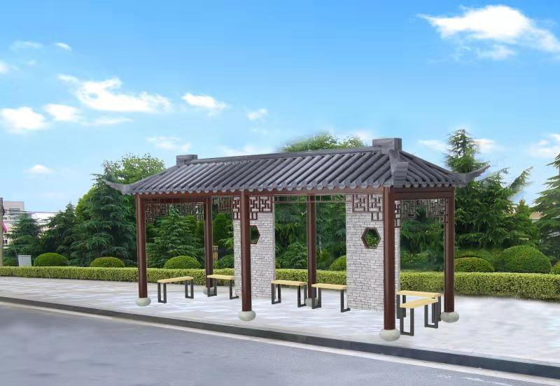 仙居县农村公路港湾式停靠站建设第一批次发货