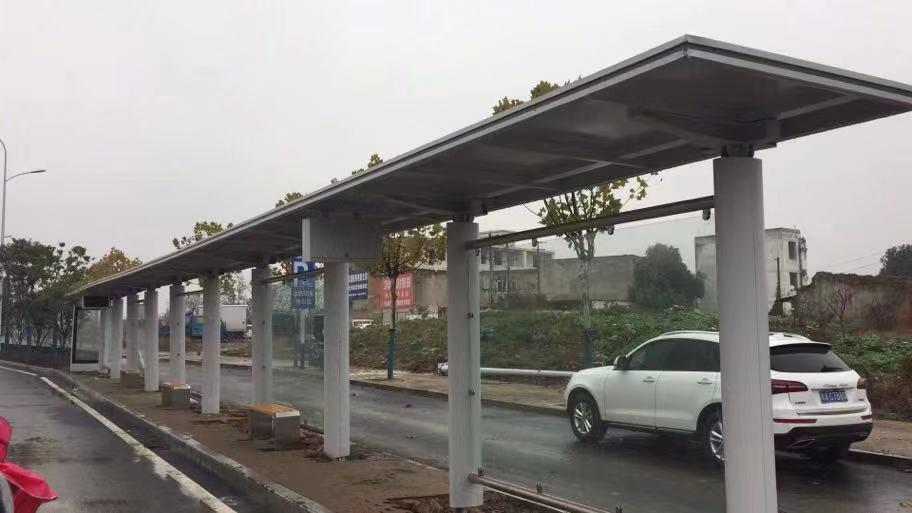 安徽合肥候车亭项目第二批次发货
