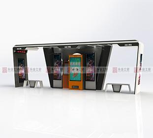 现代智能候车亭 8051