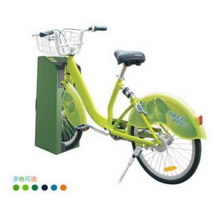 C型公共自行车锁车器